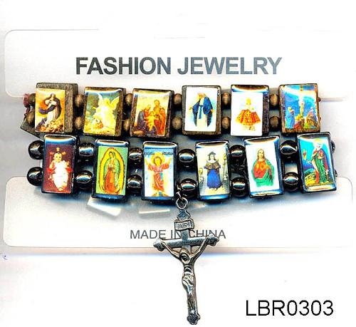 Fashion jewelry religious bracelets