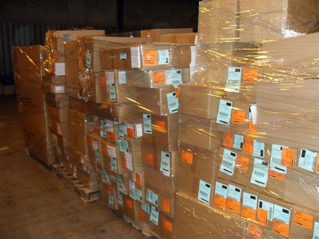 New, warehouse overstocks