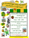 April 2, 2011 Farmers Market/Rummage Sale